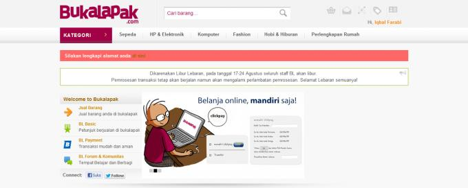Bukalapak rolls out new online payment system using mandiri clickpay folks at the e commerce site bukalapak seem to have been busy recently after releasing scallope last month bukalapak informed us that they are stopboris Gallery