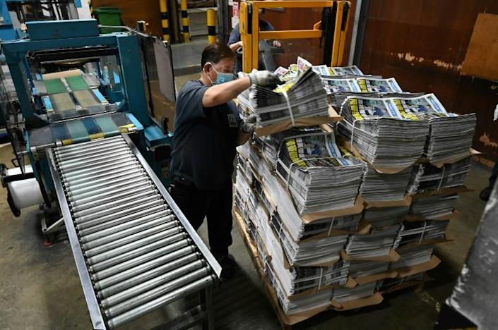 Although it remains Hong Kong's most popular media group, like most printed press Apple Daily's circulation has cratered, from around 400,000 at its peak in the 1990s to just 80,000 now