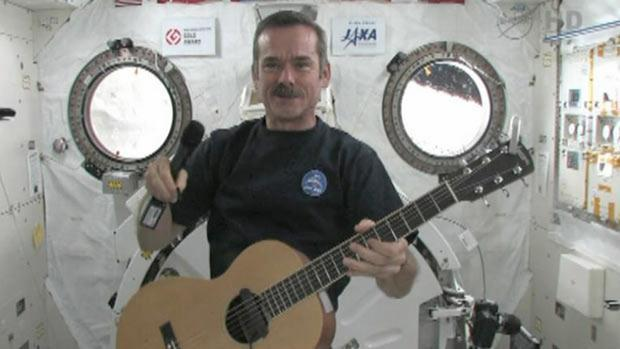 Astronaut Chris Hadfield's broadcasts from the International Space Station have helped connect music and science.
