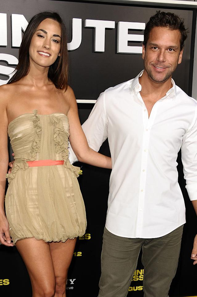 """<a href=""""http://movies.yahoo.com/movie/contributor/1800024557"""">Dane Cook</a> at the Los Angeles premiere of <a href=""""http://movies.yahoo.com/movie/1810160427/info"""">30 Minutes or Less</a> on August 8, 2011."""