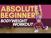 "<p>With no weights and no jumping, you and trainer Joanna Soh will focus on simple <a href=""https://www.womenshealthmag.com/uk/fitness/a31801241/the-15-best-beginners-exercises-to-do-at-home/"" rel=""nofollow noopener"" target=""_blank"" data-ylk=""slk:exercises for beginners"" class=""link rapid-noclick-resp"">exercises for beginners</a> to target every major muscle group. </p><p><strong>Equipment: </strong>None</p><p><a href=""https://www.youtube.com/watch?v=g_CttGc-_2E&ab_channel=JoannaSohOfficial"" rel=""nofollow noopener"" target=""_blank"" data-ylk=""slk:See the original post on Youtube"" class=""link rapid-noclick-resp"">See the original post on Youtube</a></p>"
