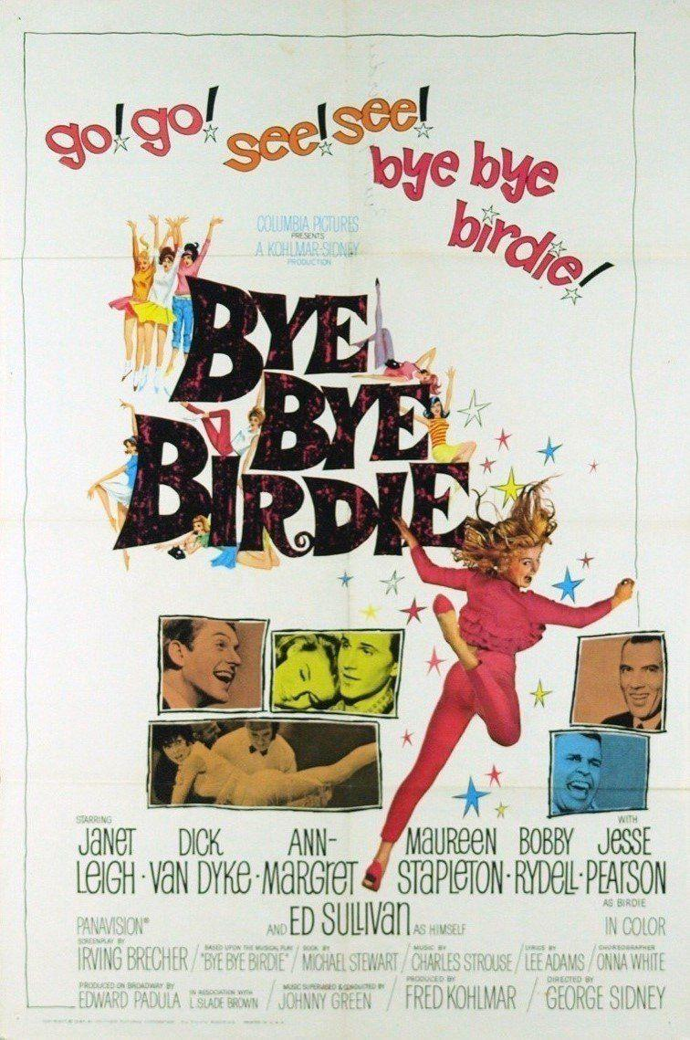 """<p>The songs are fantastic, but it's actually Ann-Margret's dancing that grabs your attention in every scene she's in. She plays a teen whose small town life is turned upside down when she's chosen to help send off her favorite singer, Conrad Birdie, to the army. Dick Van Dyke and Janet Leigh also star.</p><p><a class=""""link rapid-noclick-resp"""" href=""""https://www.amazon.com/Bye-Birdie-Janet-Leigh/dp/B001G5RFHE/ref=sr_1_1?tag=syn-yahoo-20&ascsubtag=%5Bartid%7C10072.g.27734413%5Bsrc%7Cyahoo-us"""" rel=""""nofollow noopener"""" target=""""_blank"""" data-ylk=""""slk:WATCH NOW"""">WATCH NOW</a></p>"""