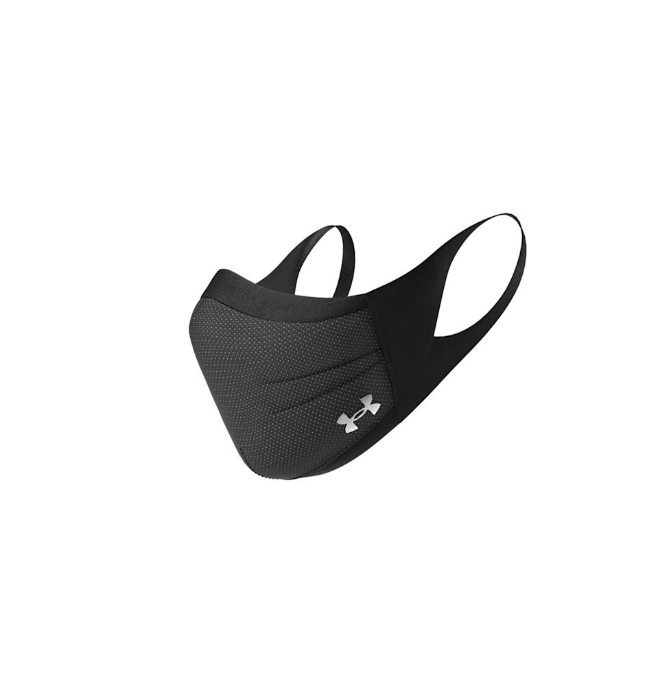 """<p><strong>Under Armour</strong></p><p>underarmour.com</p><p><strong>$30.00</strong></p><p><a href=""""https://go.redirectingat.com?id=74968X1596630&url=https%3A%2F%2Fwww.underarmour.com%2Fen-us%2Fpid1368010&sref=https%3A%2F%2Fwww.menshealth.com%2Fstyle%2Fg32099210%2Ffabric-face-masks-buy-online-charity-donation%2F"""" rel=""""nofollow noopener"""" target=""""_blank"""" data-ylk=""""slk:BUY IT HERE"""" class=""""link rapid-noclick-resp"""">BUY IT HERE</a></p><p>Under Armour's workout mask is just what you need to safely stay active outdoors. While proceeds from the masks don't directly go to charity, <a href=""""https://go.redirectingat.com?id=74968X1596630&url=https%3A%2F%2Fwww.underarmour.com%2Fen-us%2Fthrough-this-together%3Fiid%3Dsecondary%26iidasset%3Dfacemaskpdp&sref=https%3A%2F%2Fwww.menshealth.com%2Fstyle%2Fg32099210%2Ffabric-face-masks-buy-online-charity-donation%2F"""" rel=""""nofollow noopener"""" target=""""_blank"""" data-ylk=""""slk:the brand has been producing masks and gowns for frontline workers in Maryland"""" class=""""link rapid-noclick-resp"""">the brand has been producing masks and gowns for frontline workers in Maryland</a>. </p><p><strong><a href=""""https://www.menshealth.com/technology-gear/a32826334/under-armour-sportsmask-fabric-face-mask/"""" rel=""""nofollow noopener"""" target=""""_blank"""" data-ylk=""""slk:Learn More About This Innovative Fabric Face Mask You Can Pre-Order Now"""" class=""""link rapid-noclick-resp"""">Learn More About This Innovative Fabric Face Mask You Can Pre-Order Now</a></strong><br></p>"""