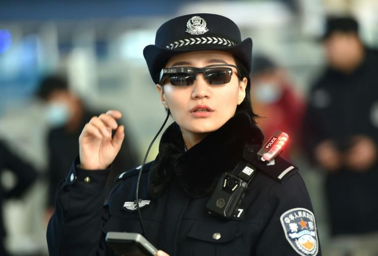 Some Chinese police have been using high-tech sunglasses that use facial recognition technology to spot suspects in crowded areas