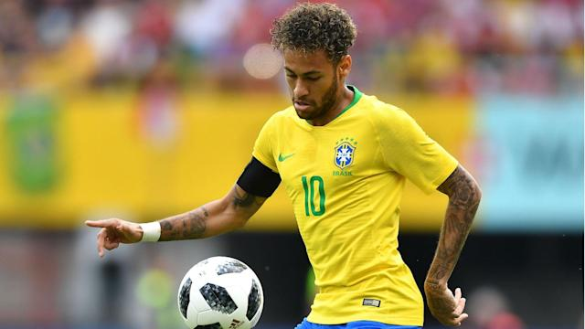 Neymar Brazil Austria friendly 2018