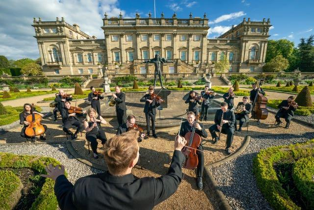 Yorkshire Symphony Orchestra play at Harewood House