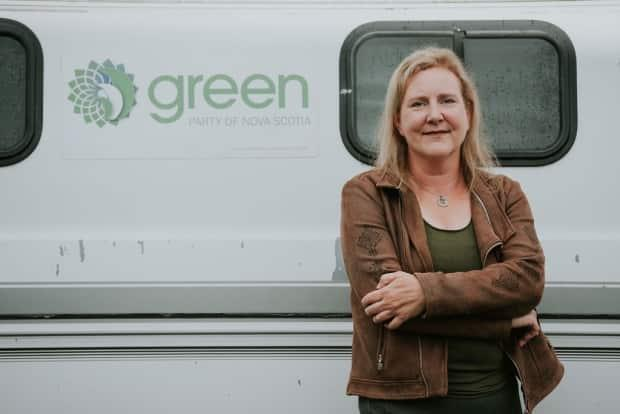 Jessica Alexander is the interim leader of the Green Party of Nova Scotia.  (Green Party of Nova Scotia - image credit)