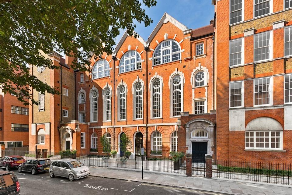 """The Sloane Building, which was featured in Oscar-winning movie """"The Theory of Everything,"""" has been converted into 18 luxury apartments for sale. Photo: Handout"""