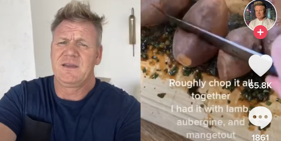 Photo credit: TikTok/Gordon Ramsay