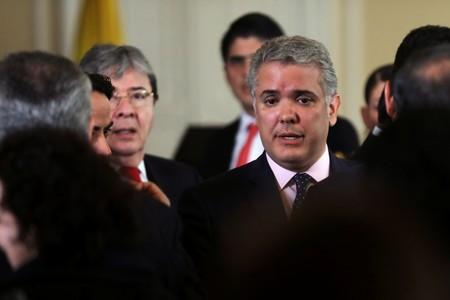 Colombia's Duque seeks international sanctions on Venezuela to protect region