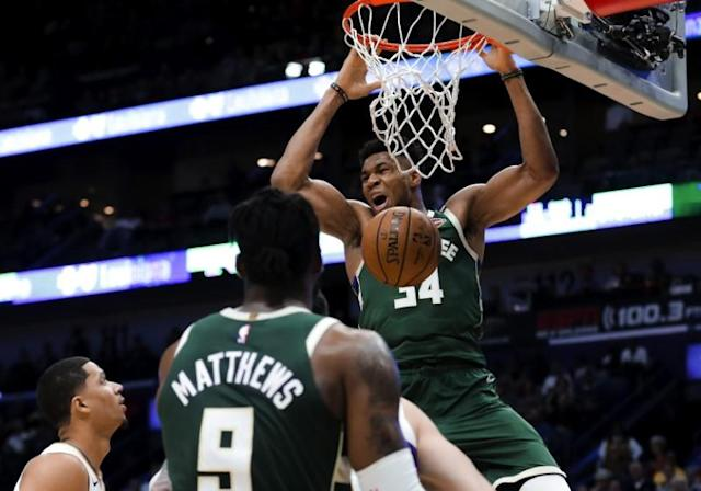 NBA: Milwaukee Bucks at New Orleans Pelicans