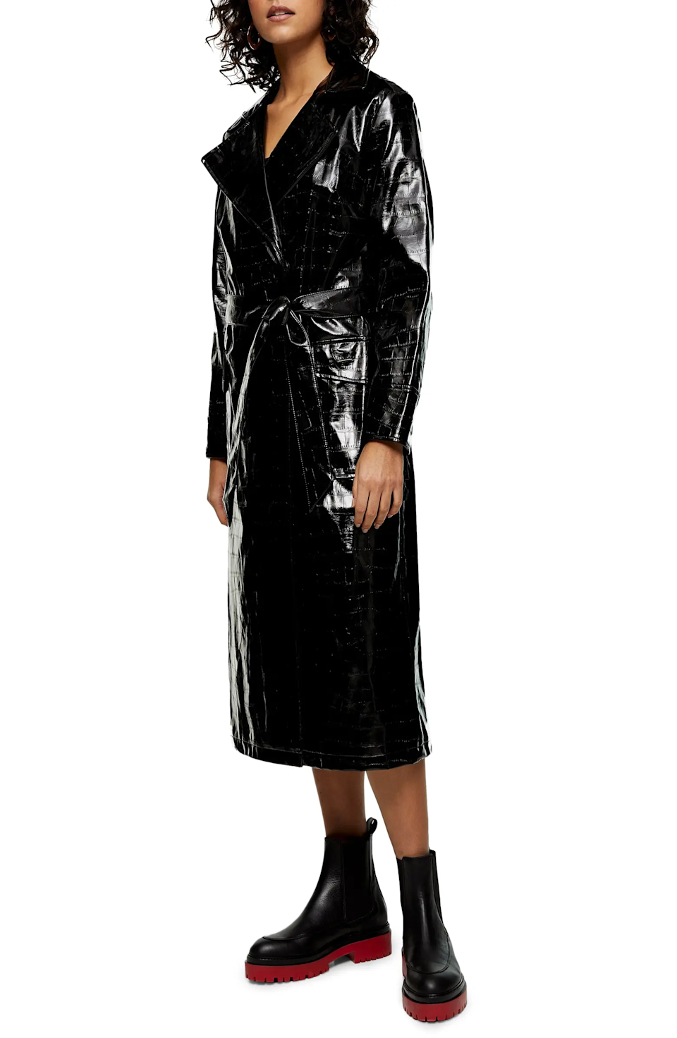 """<br><br><strong>Topshop</strong> Marina Crocodile Embossed Trench Coat, $, available at <a href=""""https://go.skimresources.com/?id=30283X879131&url=https%3A%2F%2Fwww.nordstrom.com%2Fs%2Ftopshop-marina-crocodile-embossed-trench-coat%2F5772874"""" rel=""""nofollow noopener"""" target=""""_blank"""" data-ylk=""""slk:Nordstrom"""" class=""""link rapid-noclick-resp"""">Nordstrom</a>"""