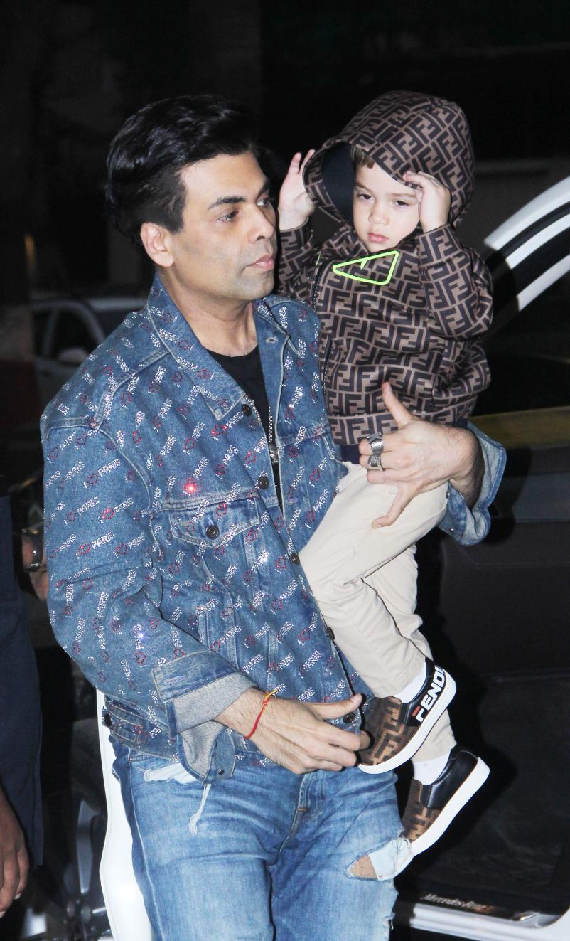 KJo with his son.
