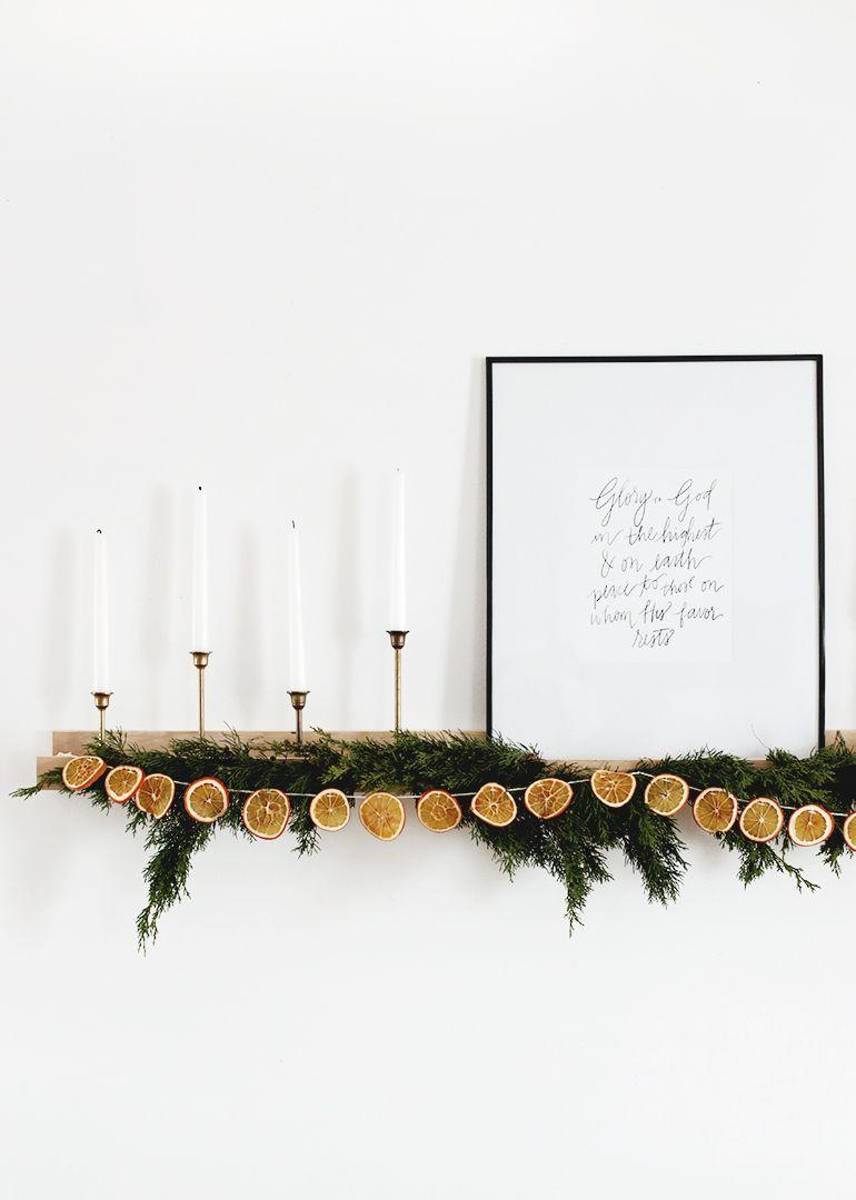 """<p>This Christmas garland does more than make your home look nice—it smells pretty sweet, too. </p><p><a href=""""https://themerrythought.com/diy/diy-dried-orange-garland/"""" rel=""""nofollow noopener"""" target=""""_blank"""" data-ylk=""""slk:Get the tutorial."""" class=""""link rapid-noclick-resp"""">Get the tutorial.</a></p><p><a class=""""link rapid-noclick-resp"""" href=""""https://www.amazon.com/Floral-Wire-Florist-Arrangement-Wrapping/dp/B07F33NHDY?tag=syn-yahoo-20&ascsubtag=%5Bartid%7C10072.g.37499128%5Bsrc%7Cyahoo-us"""" rel=""""nofollow noopener"""" target=""""_blank"""" data-ylk=""""slk:SHOP FLORAL WIRE"""">SHOP FLORAL WIRE</a></p>"""