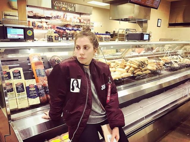 "<p>When the ""Bad Romance"" singer needs some peace and quiet, she goes in search of fresh meat. ""Where every Italian girl goes to gather herself. Meat counter,"" she captioned this shot of herself in deep thought. (Photo: <a href=""https://www.instagram.com/p/BUYVT6LA5qv/?taken-by=ladygaga"" rel=""nofollow noopener"" target=""_blank"" data-ylk=""slk:Lady Gaga via Instagram"" class=""link rapid-noclick-resp"">Lady Gaga via Instagram</a>)<br><br></p>"