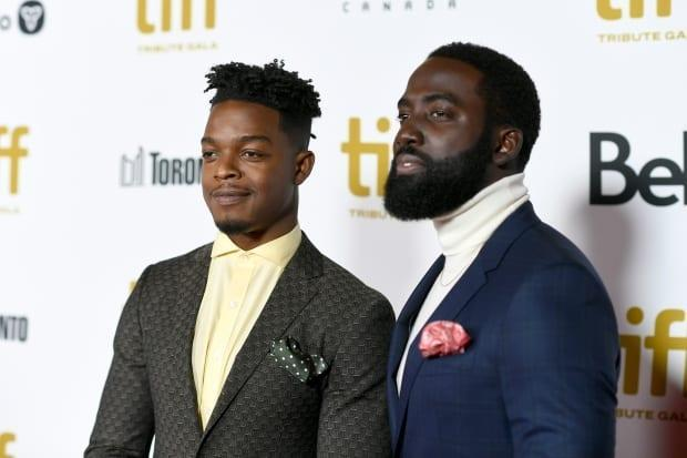 Brothers Stephan James, left, and Shamier Anderson, both actors, co-founded the Black Academy awards to celebrate Black excellence in film, television, music, sports and culture. (Frazer Harrison/Getty Images - image credit)