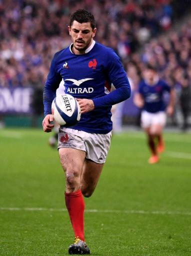 France full back Anthony Bouthier enjoyed his debut with a barnstorming all-round performance
