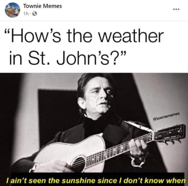 Memes like this one have popped up in response to days without seeing blue skies.