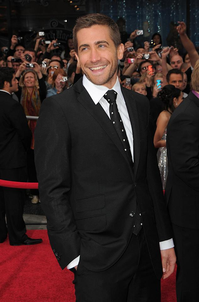 """<a href=""""http://movies.yahoo.com/movie/contributor/1800019221"""">Jake Gyllenhaal</a> at the Los Angeles premiere of <a href=""""http://movies.yahoo.com/movie/1810041991/info"""">Prince of Persia: The Sands of Time</a> - 05/17/2010"""