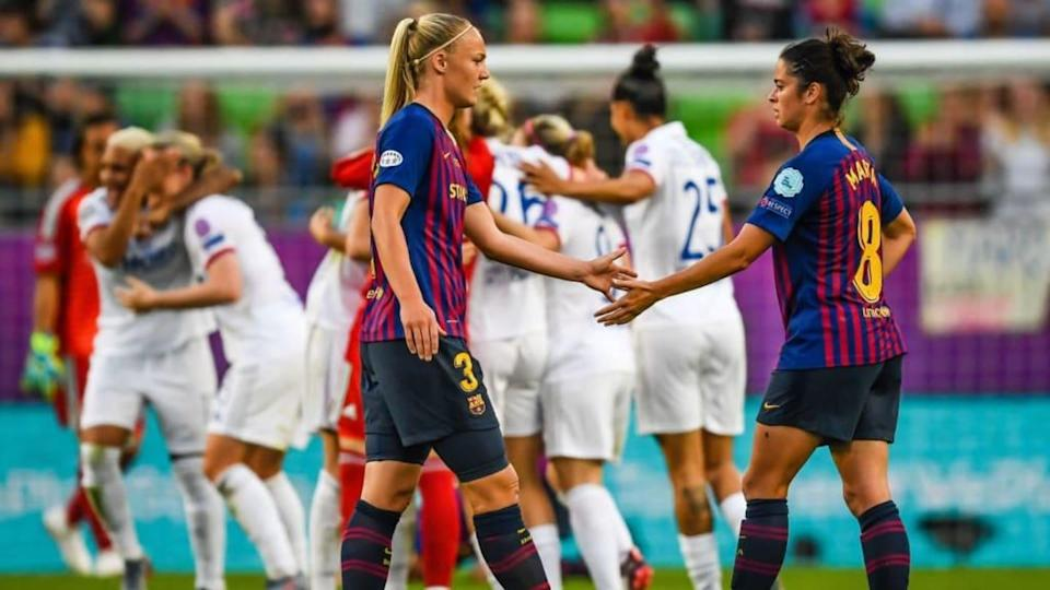 "UEFA Women's Champions League""Women: Olympique Lyonnais v FC Barcelona"" 