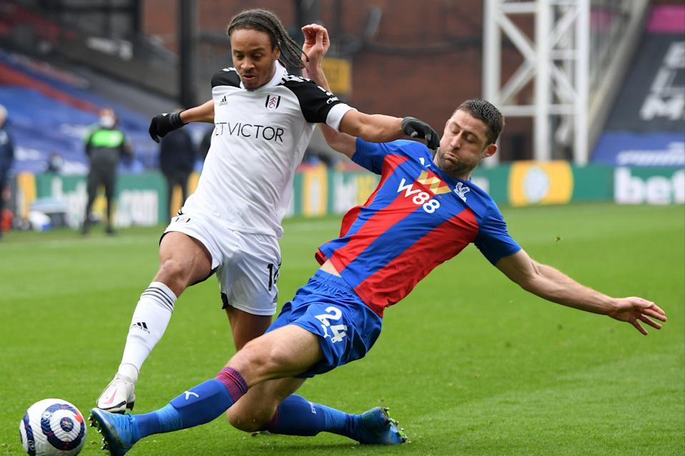 <p>No retirement plans: Gary Cahill has impressed for Crystal Palace despite injuries</p> (POOL/AFP via Getty Images)