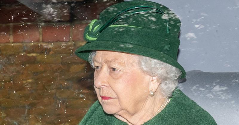 Queen Elizabeth Attends Church in Sandringham While Prince Philip Remains in London Hospital