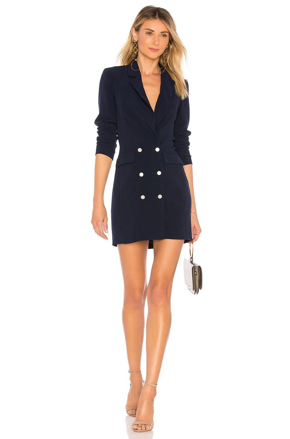 <p>This <span>superdown Madeline Blazer Dress</span> ($72) will make you feel in charge.</p>