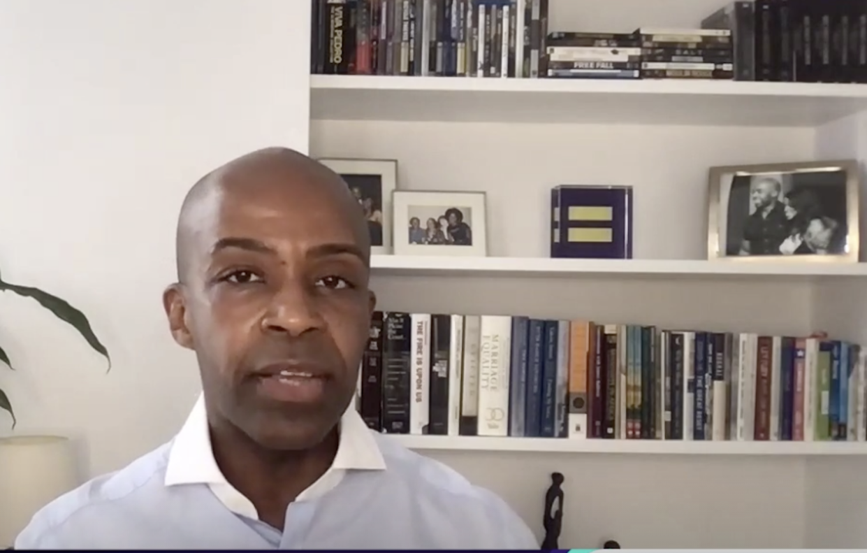 Human Rights Campaign President Alphonso David speaks to Yahoo Finance.