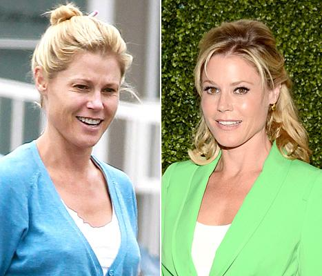 Julie Bowen Steps Out Without Makeup, Helps a Homeless Man in L.A