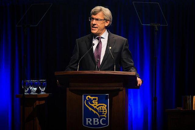 <p>No. 12 (tie): RBC CEO David McKay<br>CEO approval rating: 93 per cent<br>(Getty Images) </p>