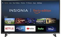 <p>Treat yourself to the <span>Insignia NS-32DF310NA19 32-inch Smart HD TV</span> ($120). It even comes with Fire TV.</p>
