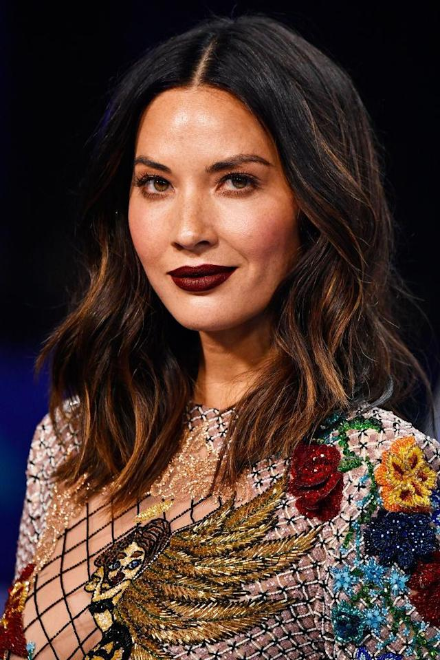 <p>Olivia Munn attends the 2017 MTV Video Music Awards at The Forum on Aug. 27, 2017, in Inglewood, California. (Photo: Frazer Harrison/Getty Images) </p>