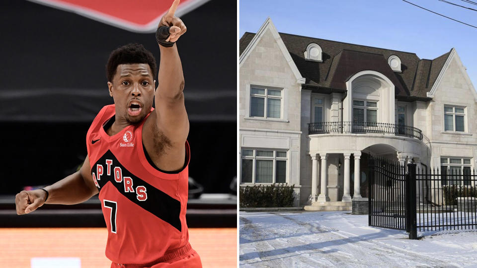 This may be the first sign that Kyle Lowry could be moving on from the Toronto Raptors. (Photo by Jim McIsaac/Getty Images)