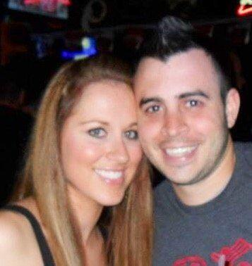 A photo of the couple from early on in their relationship.
