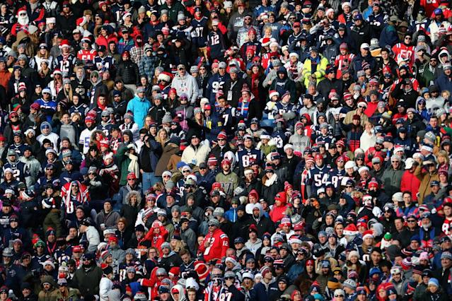 NFL fans are still watching football more than any other program. (Getty)