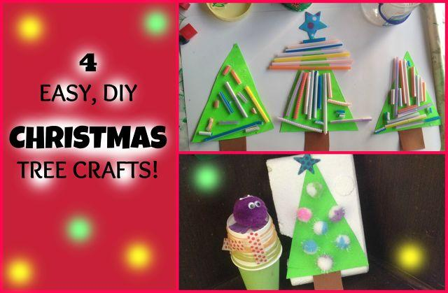 Easy DIY Christmas Tree Crafts for your toddler