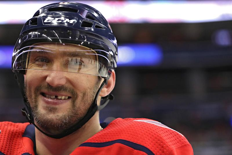1e86d3ac23b Another Ovechkin hat trick inspires epic Capitals  comeback