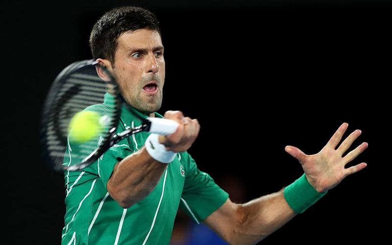 Novak Djokovic is looking to win an eighth Australian Open title - Getty Images AsiaPac