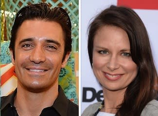 2 Broke Girls Season 3 Cast Gilles Marini Mary Lynn Rajskub