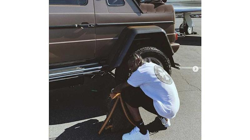 Rapper Travis Scott Drops $1.6M On Rare Maybach G-Wagon