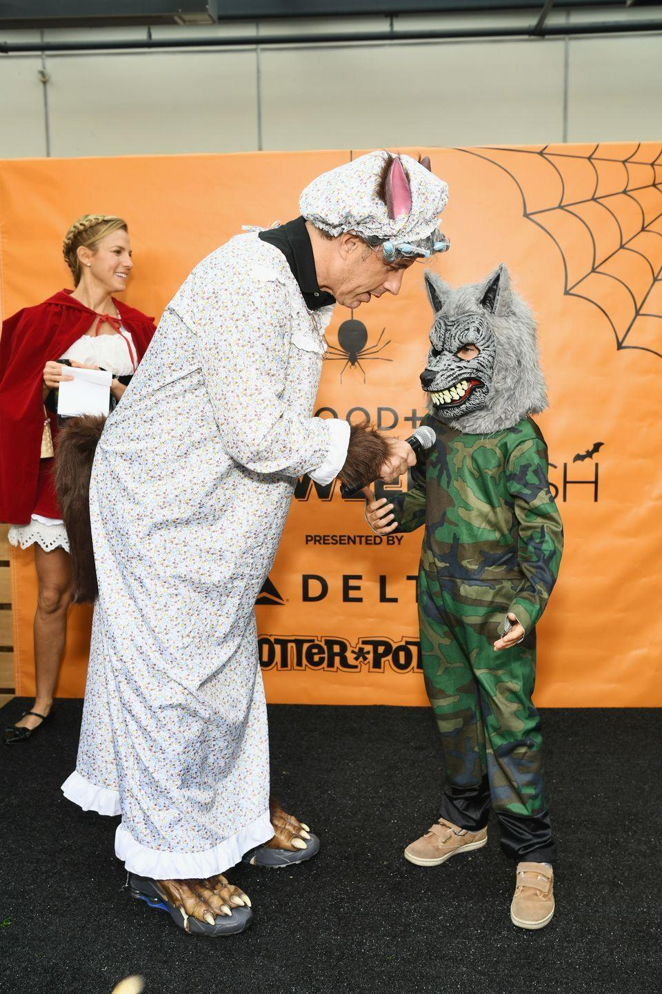 <p>My, this wasn't part of the plan! GOOD+ Foundation's Jerry Seinfeld hosted the 3rd Annual Halloween Bash in 2018 with founder Jessica Seinfeld in Culver City, California.</p>