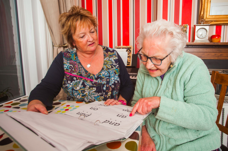 The pensioner hopes to read love stories (SWNS)