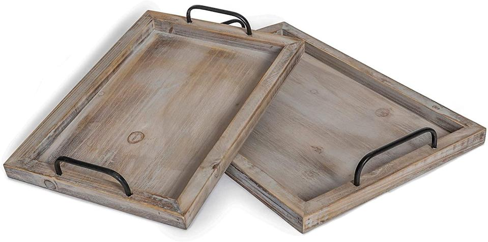 Besti Rustic Vintage Food Serving Trays, best gifts for wife