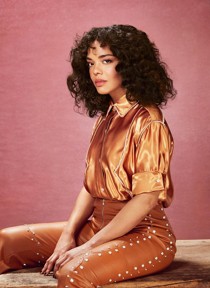 Tessa Thompson in Los Angeles, April 28, 2019. | Gizelle Hernandez for TIME