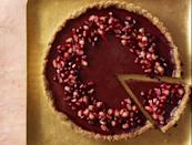 """<p>This is a fancier pick that's great for special occasions, or if you just feel like treating yourself. It calls for almond flour, agar agar, and pomegranate molasses. At about 300 calories a slice, it's a winner.</p><p><strong><em><a href=""""https://www.prevention.com/food-nutrition/a30245445/pomegranate-orange-tart-recipe/"""" rel=""""nofollow noopener"""" target=""""_blank"""" data-ylk=""""slk:Get the recipe from Prevention »"""" class=""""link rapid-noclick-resp"""">Get the recipe from Prevention »</a></em></strong> </p>"""