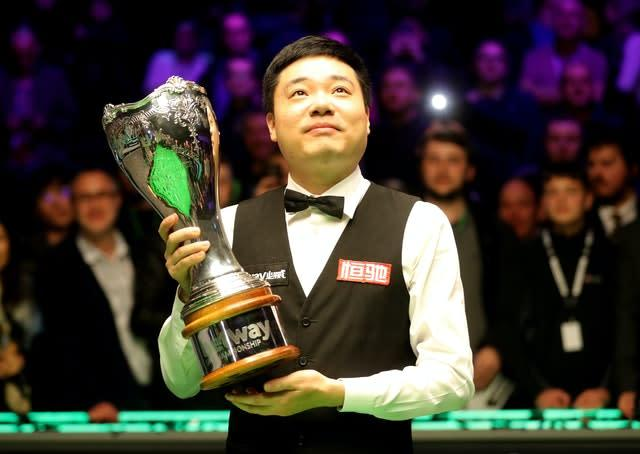 Ding Junhui has pulled out of the Coral Tour Championship (RIchard Sellers/PA)