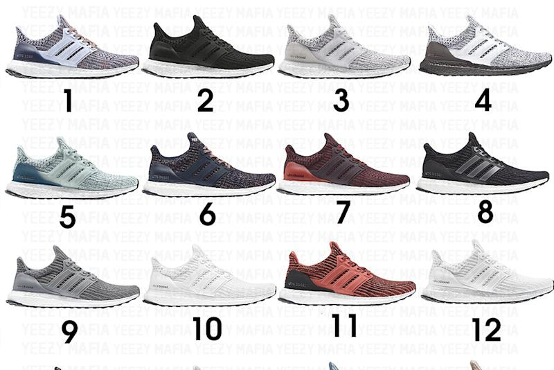 477c6328783 Here s an Early Look at 20 Adidas Ultra Boost Styles Releasing in 2018