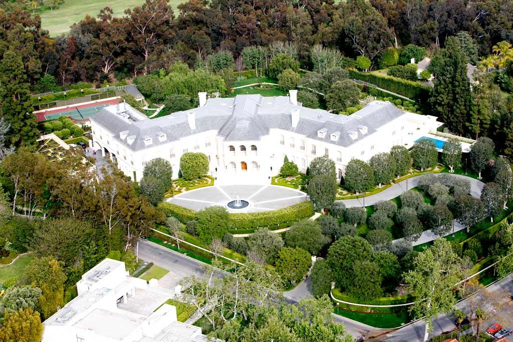 """If you think Madonna's digs are pricey, wait until you hear what Candy Spelling expects to fetch for her 56,500 square foot, 100 room Holmby Hills, California estate ... $150 million, making Spelling Manor the most expensive residential listing in the country! MBF/<a href=""""http://www.x17online.com"""" target=""""new"""">X17 Online</a> - April 14, 2009"""