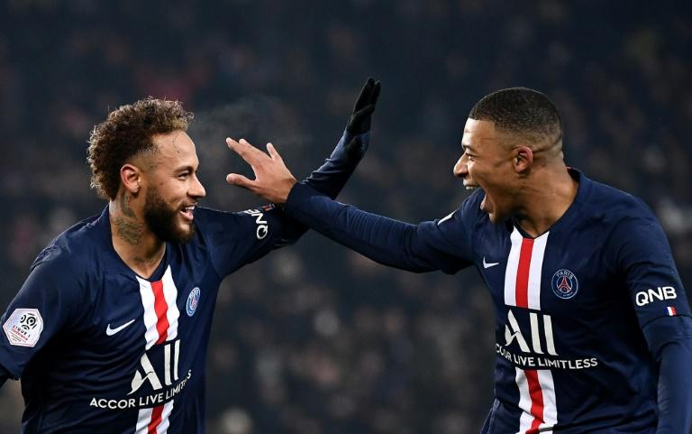 Kylian Mbappe and Neymar both scored on Wednesday against Nantes as they started together for the first time this season