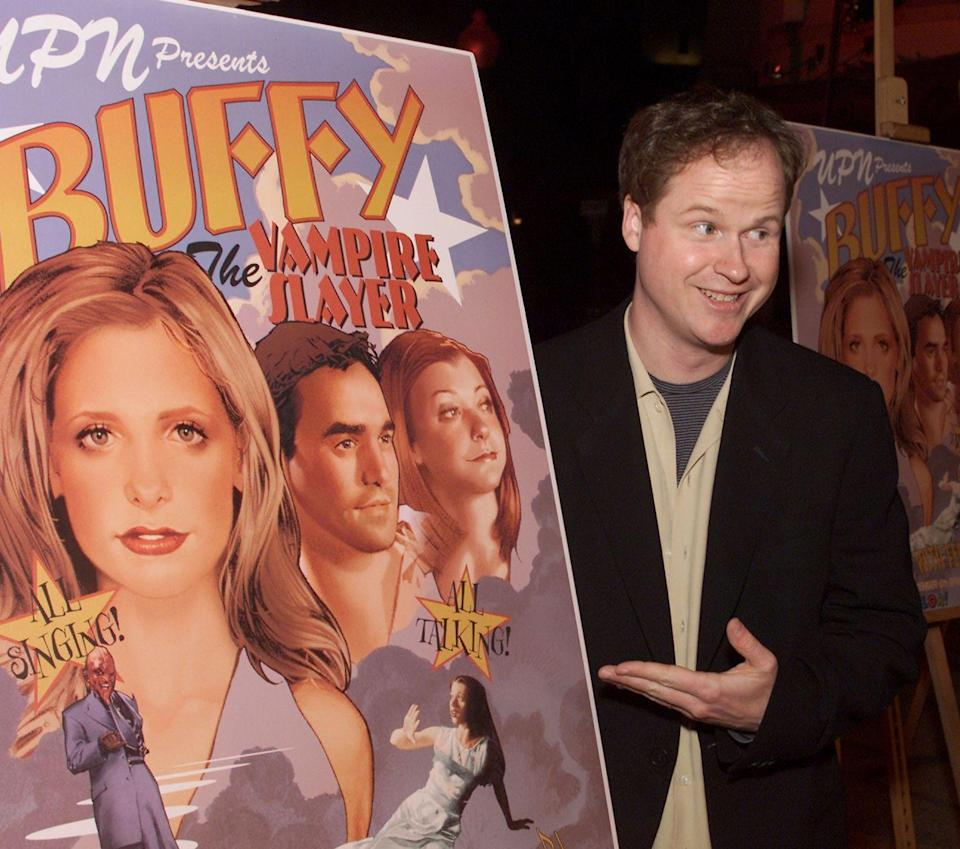 "<p>The <em>Buffy the Vampire Slayer </em>creator was on the show as <a href=""https://www.buzzfeed.com/anaisbordages/celebrities-veronica-mars"" rel=""nofollow noopener"" target=""_blank"" data-ylk=""slk:a car rental person"" class=""link rapid-noclick-resp"">a car rental person</a> at Lariat Rent-A-Car. He is a self-proclaimed Marshmallow. </p>"
